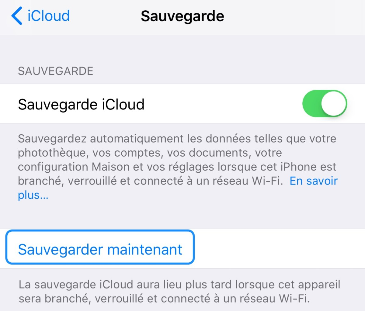 IOS Settings Backup iPhone