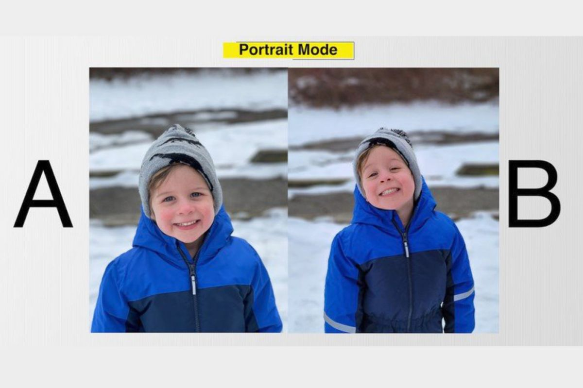 Portrait mode iPhone 12 Pro Max vs Galaxy S21 ultra