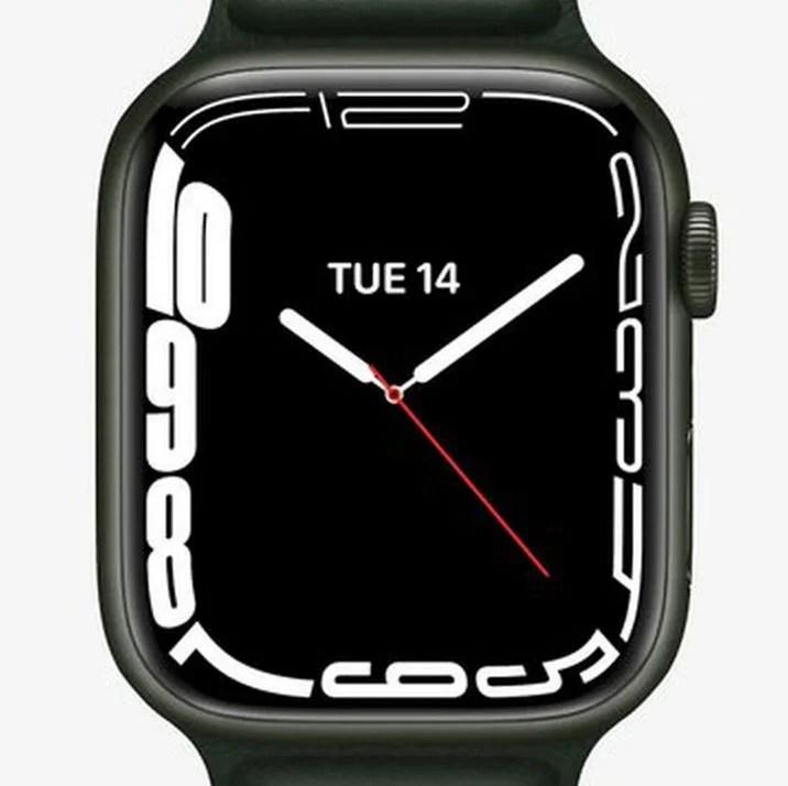 Continuum watchface