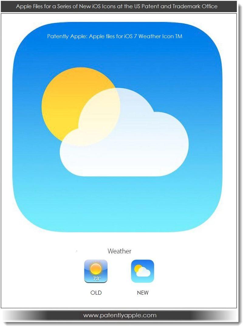 Apple protge le design de ses icones iOS 7
