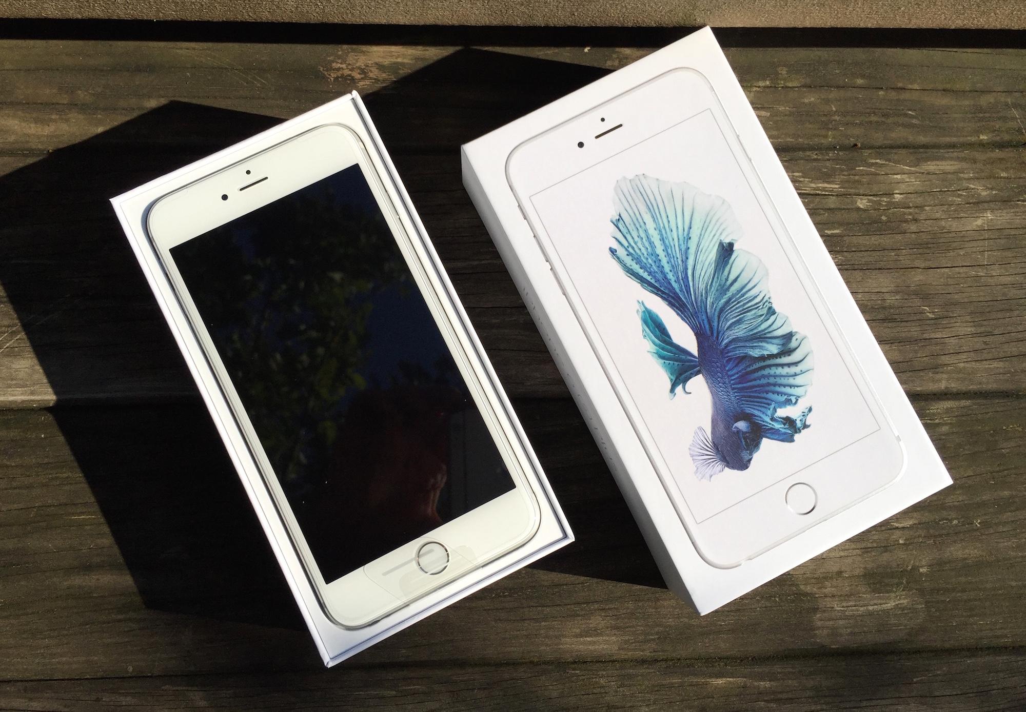 MJ Vido LiPhone 6s Plus Photos Au Dballage Et Aux
