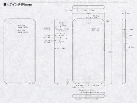 L'iPhone 6 en rendus 3D, basé sur les schémas dévoilés