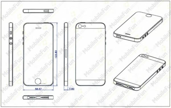 iPhone 5: più alto e meno spesso del precedente modello