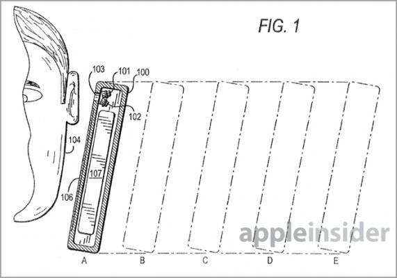 Apple iPhone 5S: nuovo brevetto sulla regolazione