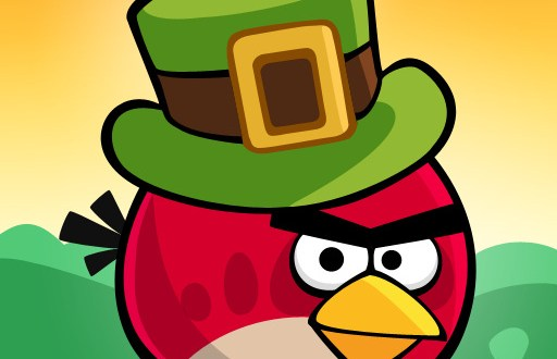Angry Birds Seasons und mehr St. Patricks Day Apps