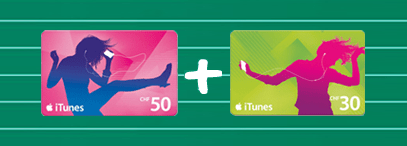 iTunes Karten Aktion im Postshop und bei Media Markt