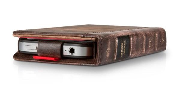BookBook-Hülle packt iPhone und iPad als Buch ein