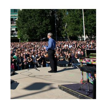 Apple nimmt Abschied von Steve Jobs