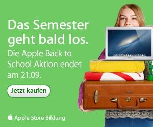 Studenten kaufen bei Apple und Projekt Neptun günstiger ein