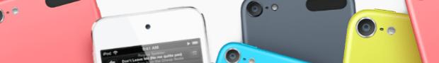 Günstigstes iPod touch-Modell jetzt farbig und mit 5 MP iSight Kamera