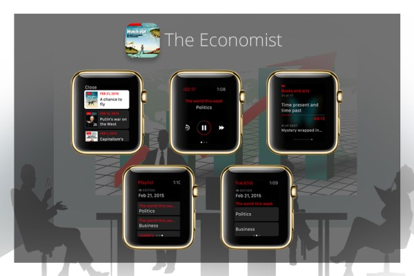 Apps für goldene Apple Watch - The Economist