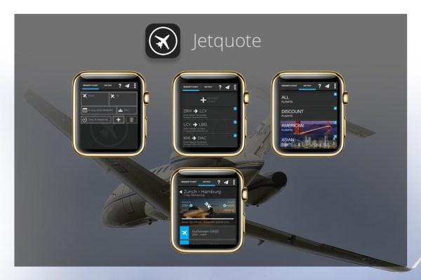Apps für die goldene Apple Watch - Jetquote