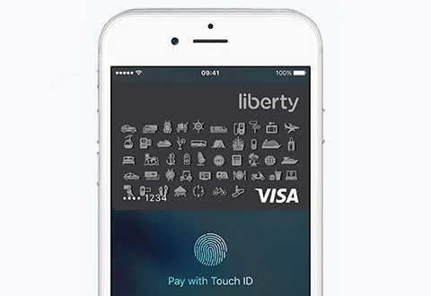 Visa LibertyCard mit Apple Pay