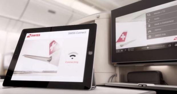 Ab 2018 WLAN auf Swiss Europaflügen
