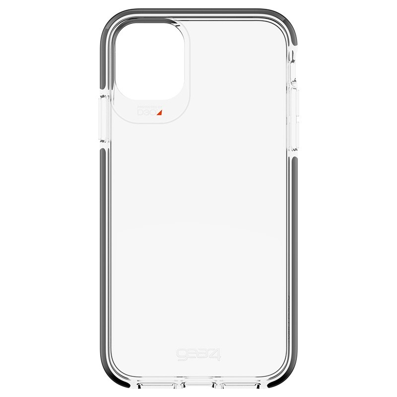 Gear4 Piccadilly Transparant iPhone 11 Hoesje Zwart