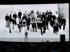 Tim Cook presents Apple TV+