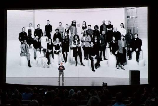 Tim Cook presents Apple TV+