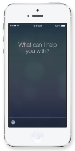 iOS 7: Siri fragt nach