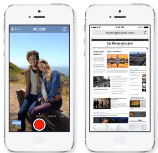 iOS 7: Videos drehen und Webseiten