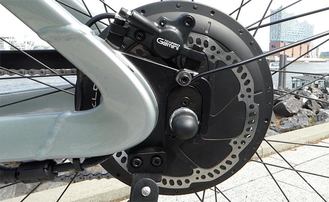 Klever Mobility XRAW Pedelec mit Biactron Hinterradmorot
