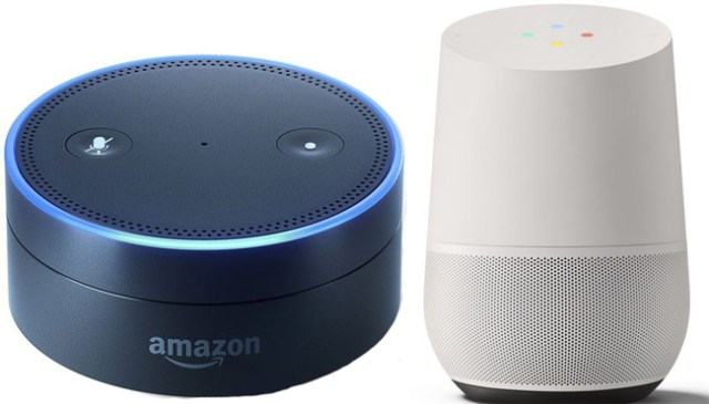 Alexa Echo dot und Google Home