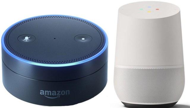 Alexa Echo dot und Google Home
