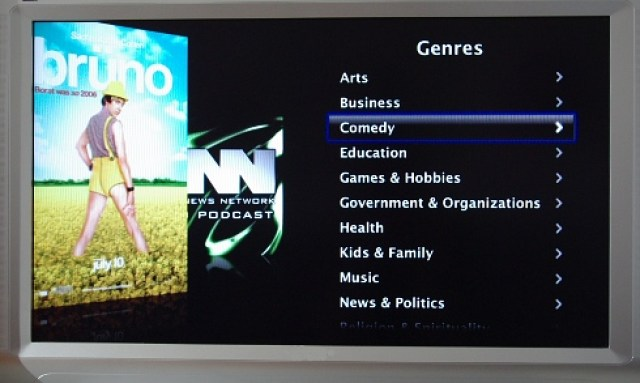 Kategorie Comedy bei den Podcasts im Apple-TV-Programm