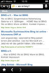 Wo ist Bing?