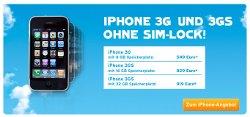 Blau verkauft freie iPhones vom 3Gstore - jedoch mit Preisvorteil