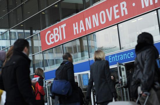 Die CeBIT in Hannover (c) Deutsche Messe AG