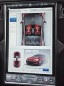 Sitzheizung im Tesla S steuern