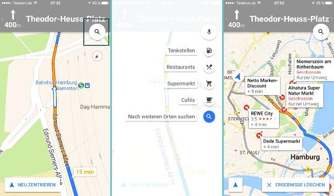 google maps navigation mit zwischenstopps iphone fan. Black Bedroom Furniture Sets. Home Design Ideas