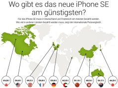iPhone SE international billiger