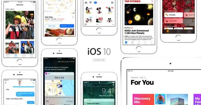 iOS 10 auf dem iPhone und iPad