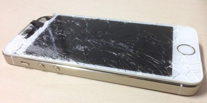 Schaden Defekt iPhone Bildschirm