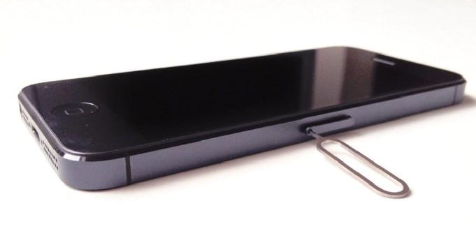 SIM Karte in ein iPhone einlegen