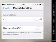 iPhone Kamera Video fehlt Audio-Wiedergabe leise