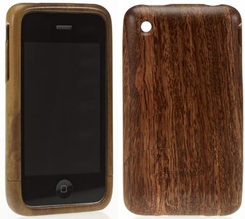 Schutzhülle für das iPhone aus Kirschholz