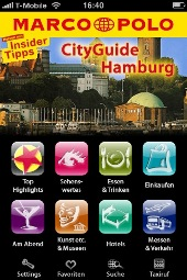 Marco Polo City Guide für Hamburg