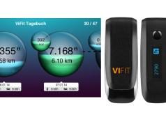Vitadock-Tagebuch und ViFit Tracker von Medisana