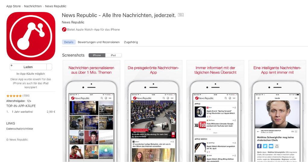 sex app store München