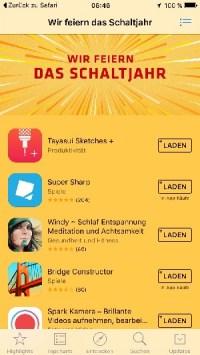 5 Apps kostenlos zur Feier des Schaltjahres