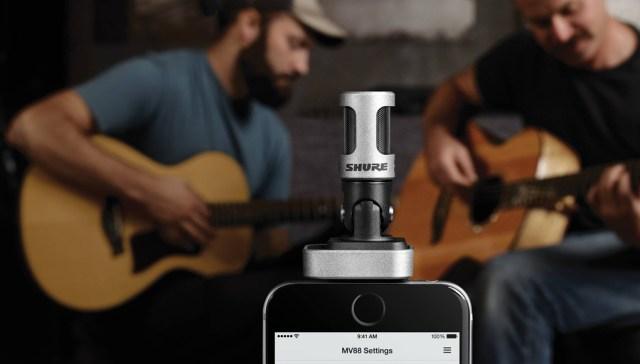 Shure Mikrofon für das iPhone