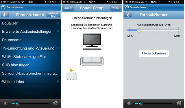 App Sonos Playbar