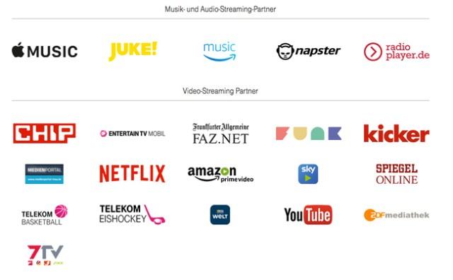 Streaming der Telekom Partner
