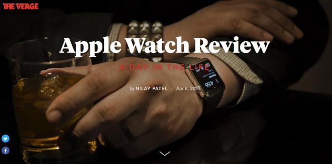 Ein Tag mit der Apple Watch