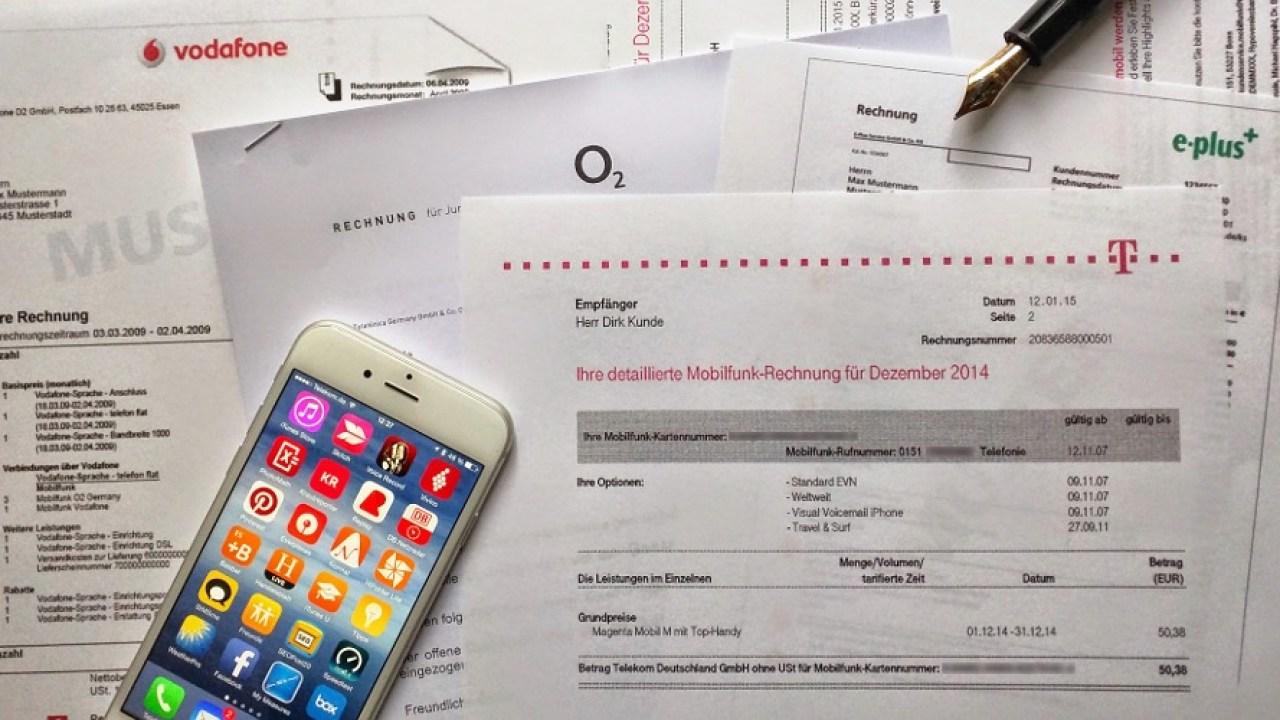 Den überblick Bei Handy Verträgen Behalten Iphone Fan