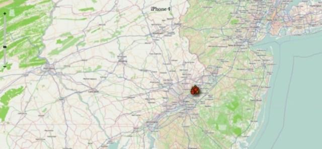 Tracking Aufenthaltsorte iPhone 4