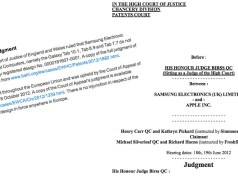 Samsung Apple UK Urteil