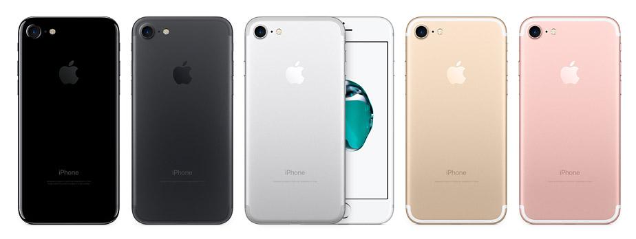 Die Farbpalette des iPhones 7 ergänzt Apple um zwei Schwarz-Varianten. Dem hochglanzpoliertem Diamantschwarz bescheinigt selbst Apple eine gewisse Empfindlichkeit gegenüber Kratzen und empfiehlt eine Schutzhülle zu verwenden. (Foto: Apple)